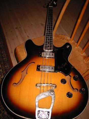 1960.. something Hagström Viking bass