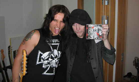 Martin Sweet & Mick Mars