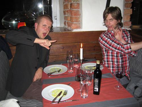 David & Peter