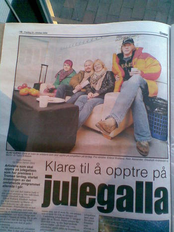 Look! Im in the newspaper and hav´nt done anything wrong....