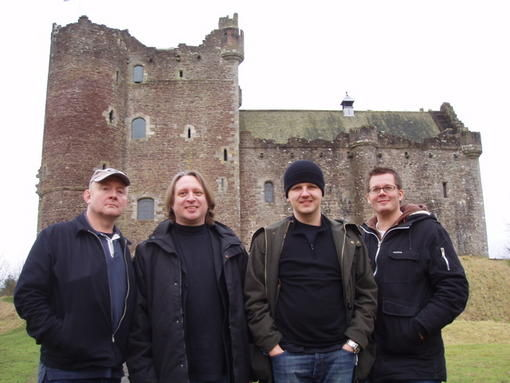 outside Doune Castle