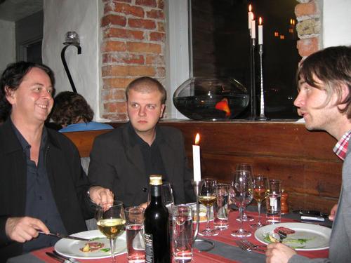 Peo, David & Peter